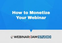 Webinarjam How To Make Money With Webinars