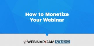 Webinarjam How To Make Money With Webinars