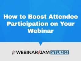 Boost Webinar Participation