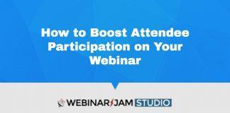 Boost Webinar Participation