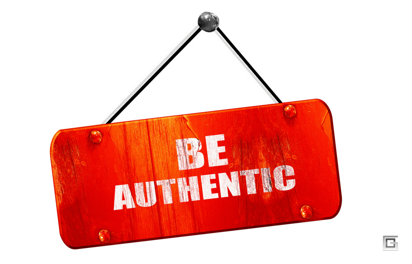 Be authentic. People buy from people they like and trust.