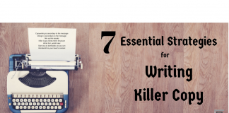 7 Essential Strategies for Writing Killer Copy for Your Video Sales Letters.