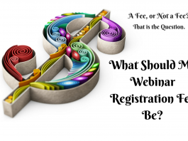 How much should the host charge for a webinar seat? How much should the host charge for a webinar seat?
