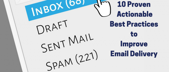 Email Delivery Best Practices to decrease bounce rate.