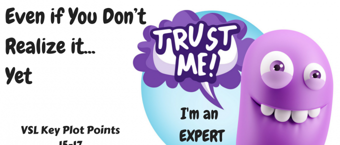 You are an expert in your field, even if you don't know it yet.
