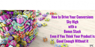 Bonuses stacked upon bonuses that deliver over-the-top value increase conversions and build brand trust and loyal customers.
